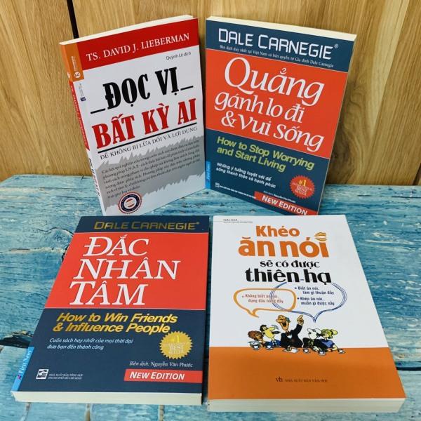 Mua Combo 4 sách: - Khéo Ăn Nói Sẽ Có Được Thiên Hạ - Đọc Vị Bất Kỳ Ai - Quẳng Gánh Lo Đi Và Vui Sống - Đắc Nhân Tâm