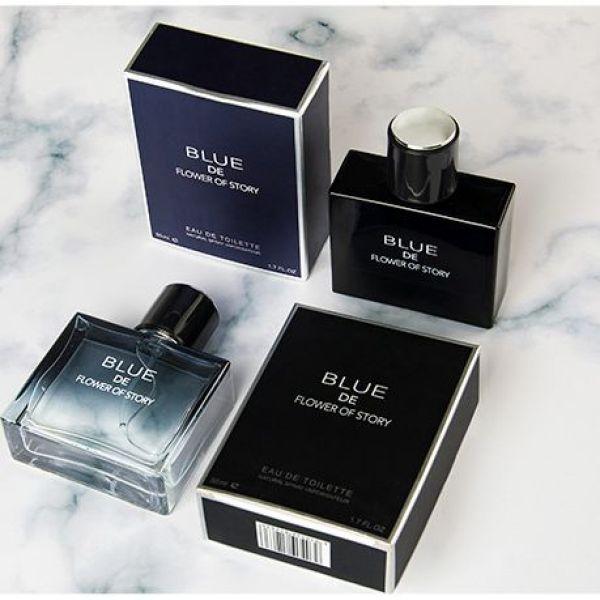 Nước hoa nam men blue de Flower of story 50m hàng nội địa trung cao cấp thơm giữ mùi lâu 24h , với hương thơm tươi mát sảng khoái làm việc cả ngày nhỏ gọn dễ bỏ túi giá rẻ