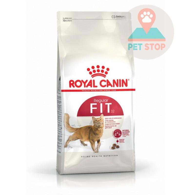 2kg Hạt Royal Canin Fit cho mèo năng động trên 12 tháng tuổi