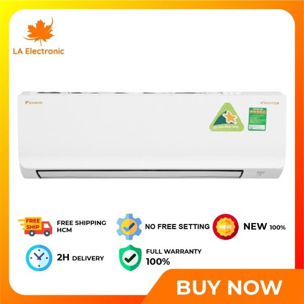 Trả Góp 0% - Máy lạnh Daikin Inverter 1 HP ATKA25UAVMV - Miễn phí vận chuyển HCM
