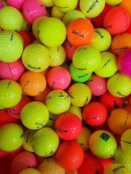 10 quả Bóng golf MÀU đủ các thương hiệu. Bóng golf Srixon. Bóng golf Volvik. Bóng golf . Bridgestone