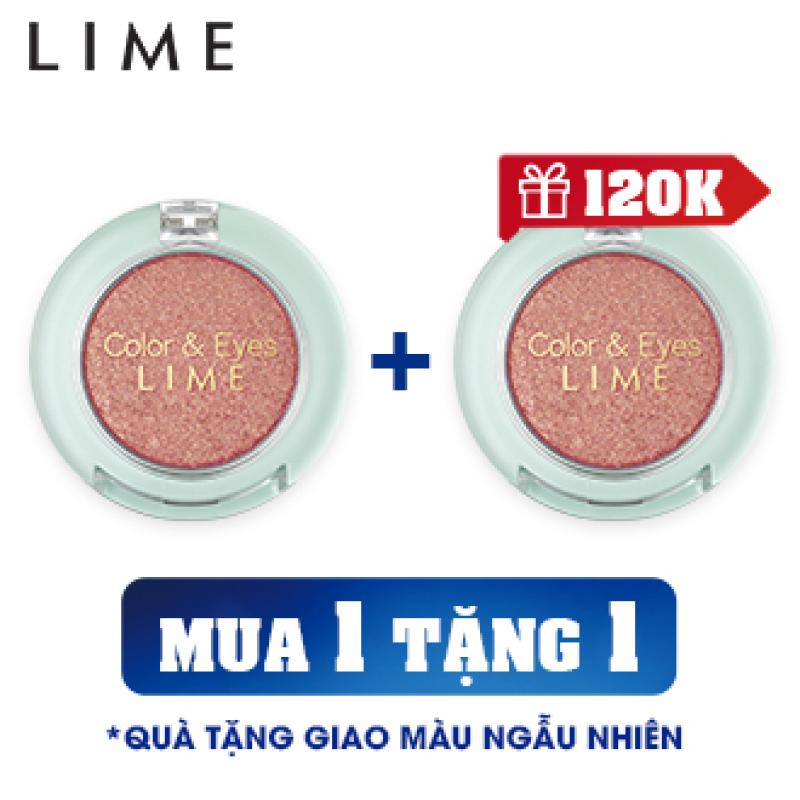 [MUA 1 TẶNG1] Phấn Mắt Nhũ Thời Thượng Lime Color & Eyes Single Sparkle 1.4g, mang đến cho bạn đôi mắt đẹp lấp lánh với sắc tố màu cao giá rẻ