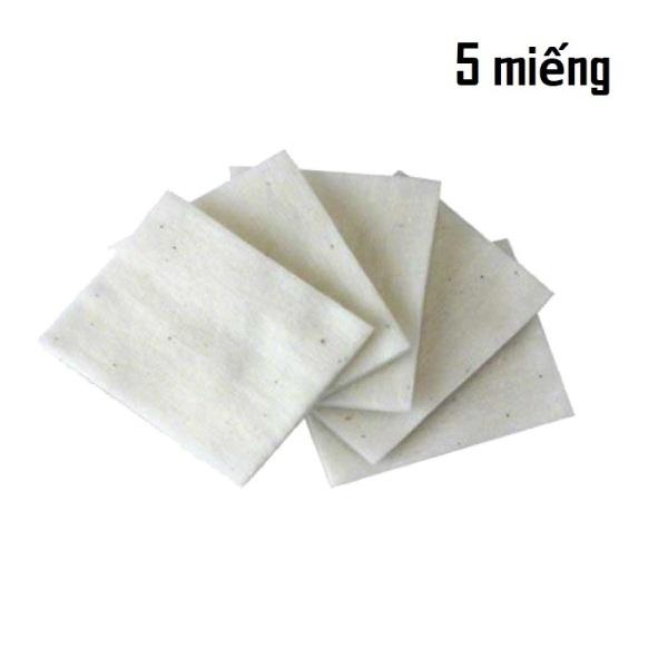 Set Bông Cotton Muji Nhật Tinh Khiết - Dùng cho thiết bị DIY, trở giá rẻ