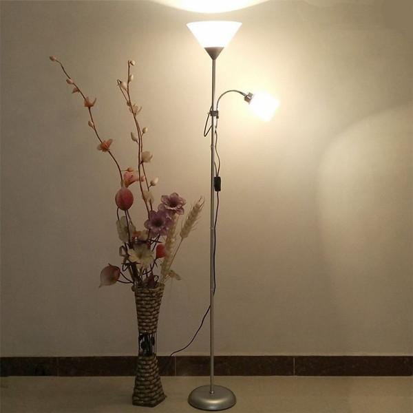 Bảng giá Đèn đứng - đèn cây đứng hai nhánh trang trí cao cấp Roman LAMP - Tặng kèm 2 bóng LED cao cấp