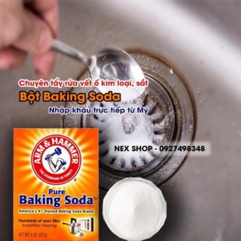 BaKing Soda Mỹ Chuyên Tẩy Rửa Kim Loại