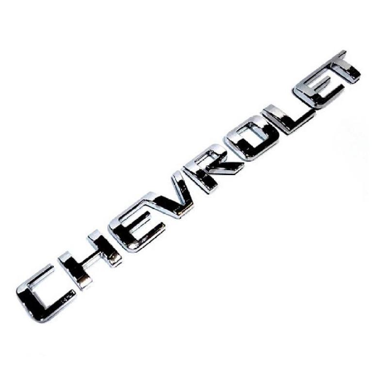 Logo kim loại chữ nổi CHEVROLET