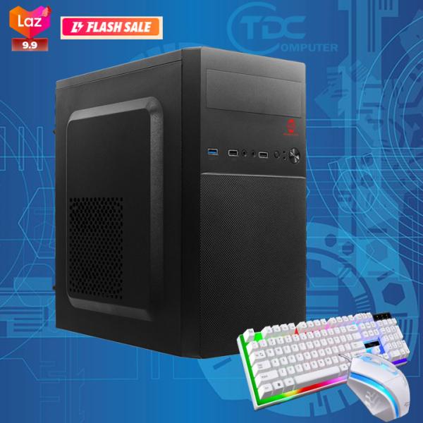 Bảng giá [Trả góp 0%]Máy tính để bàn Intel® core i5 2400s; RAM 8GB; ổ cứng SSD 120GB HDD 500GB. Tặng bàn phím chuột giả cơ.( máy tính để bàn giá rẻ cấu hình cao bảo hành dài máy tính chơi game máy tính để bàn chơi game máy tính game) Phong Vũ