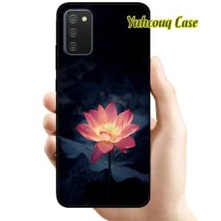 [HCM]Ốp Lưng Dành Cho Samsung A02s - Sen Hồng Trong Đêm thumbnail