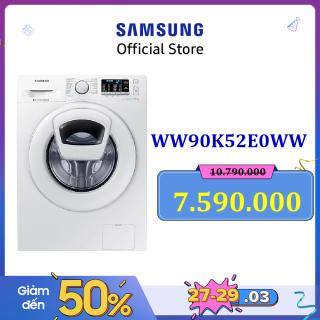 [Free giao hàng - lắp đặt hãng] Máy giặt cửa trước Samsung WW90K52E0WW SV Inverter AddWash 9Kg (Trắng) - Hãng phân phối chính thức thumbnail