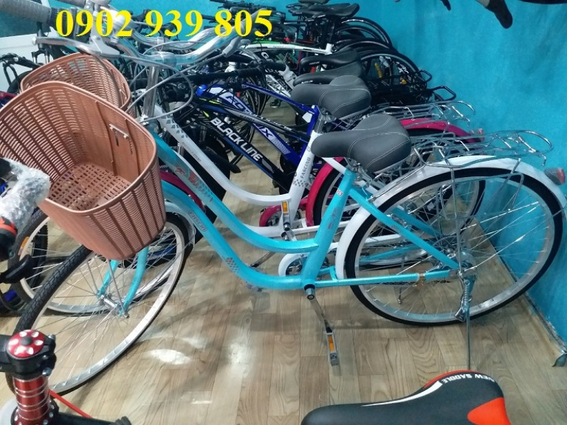 Phân phối [Xe đạp cao cấp] dành cho nữ cao từ 1m55 trở lên FASCINO FM26