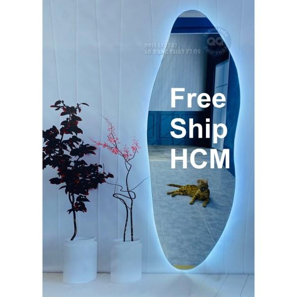 [HCM]Gương soi toàn thân Gương treo tường vintage cổ điển uốn lượn 60 160cm cm giá rẻ