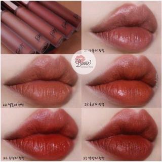 ( Sẵn - Ver5 ) Son kem Bbia Last Velvet Lip Tint Version 5 21 22 23 24 25 thumbnail