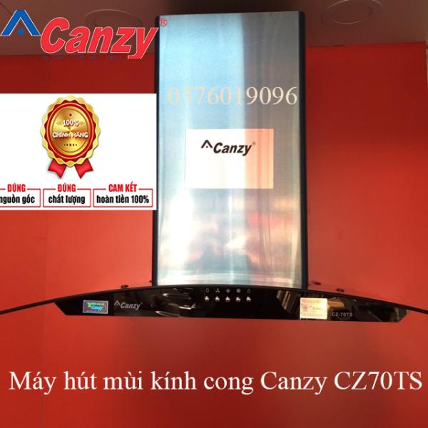 Máy hút mùi kính cong Canzy CZ70TS