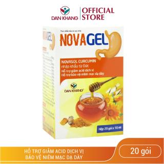 Gói uống giảm đau dạ dày Novagel thumbnail