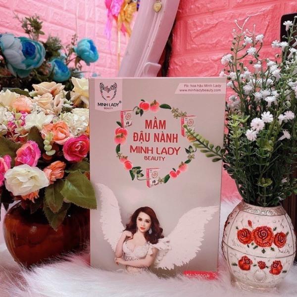 [MUA 1 TẶNG 3]-Mầm Đậu Nành Minh Lady-Tăng Vòng 1 Đẹp Da- TẶNG Thước Dây+Mặt Nạ Nhao Thai Cừu+Chun Buộc Tóc Kute+Free Ship