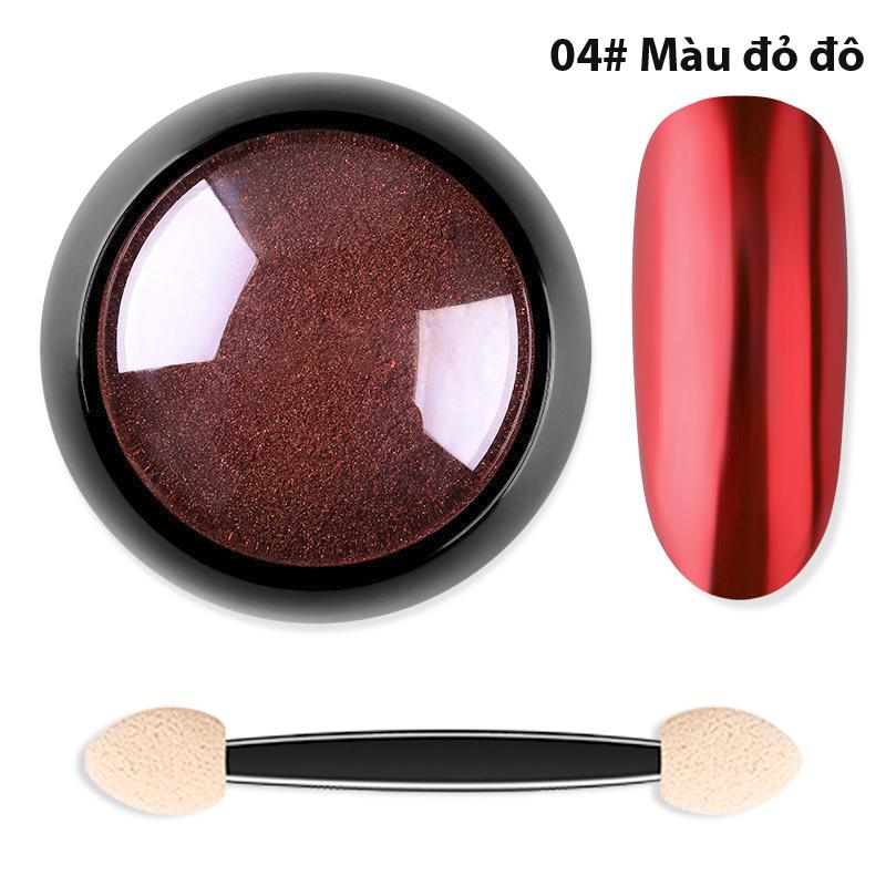 Bột Màu Sơn Móng Tráng Gương Titanium Cao Cấp - Nhiều màu chọn giá rẻ
