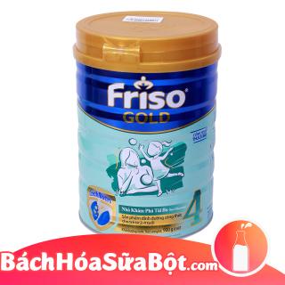 Sữa bột Frisolac Gold 4 900g (Dành cho trẻ từ 2 - 4 tuổi) thumbnail