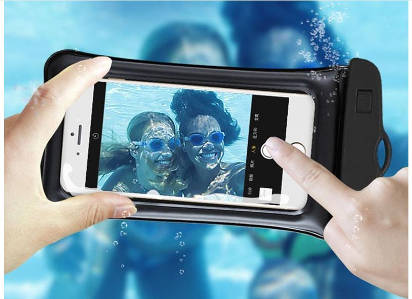 Bao, Túi đựng điện Thoại Smartphone Chống Nước, Cảm ứng, Chụp ảnh Dưới Nước ( Màu Tùy Chọn), đi Biển Đang Ưu Đãi Giá