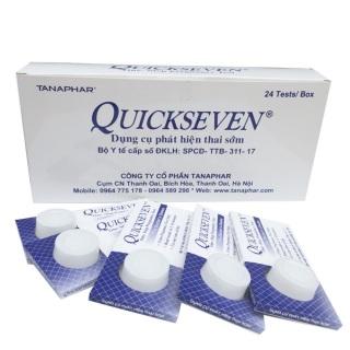 Que thử thai Quickstrip hộp 24 que, sản phẩm cam kết đúng như mô tả, chất lượng đảm bảo, an toàn sức khỏe người dùng thumbnail