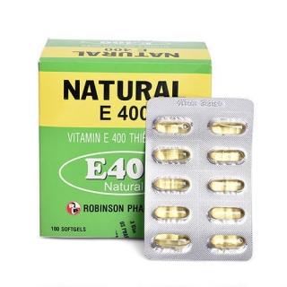 [HCM]Bổ sung Vitamin E duy trì vẻ đẹp của làn da NATURAL E 100 Viên thumbnail