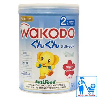 Sữa Bột Wakodo GunGun 2 - Hộp 830g (Dành cho trẻ từ 1 3 tuổi) thumbnail