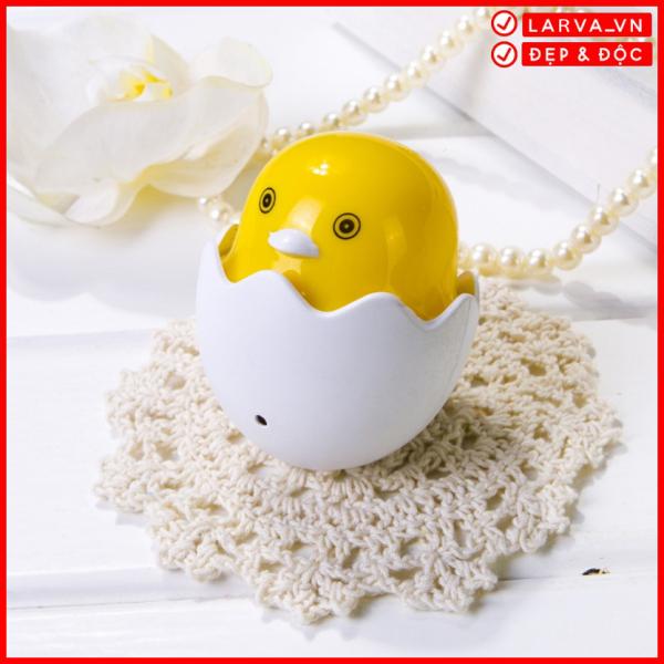 Đèn Ngủ Tự Động Sáng Hình Quả Trứng Gà Màu Vàng