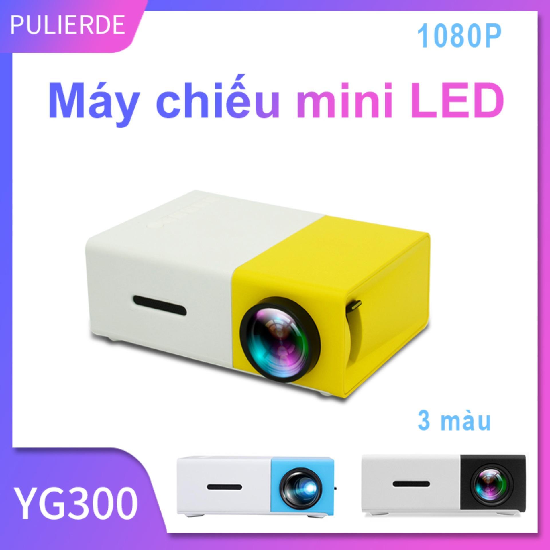 Bảng giá [Hot Sale][Máy chiếu đa phương tiện] Sản phẩm Máy chiếu LED YG300 600 lumen mini cho điện thoại laptop hỗ trợ độ phân giải 320x240 Pixels máy chiếu cho gia đình Điện máy Pico