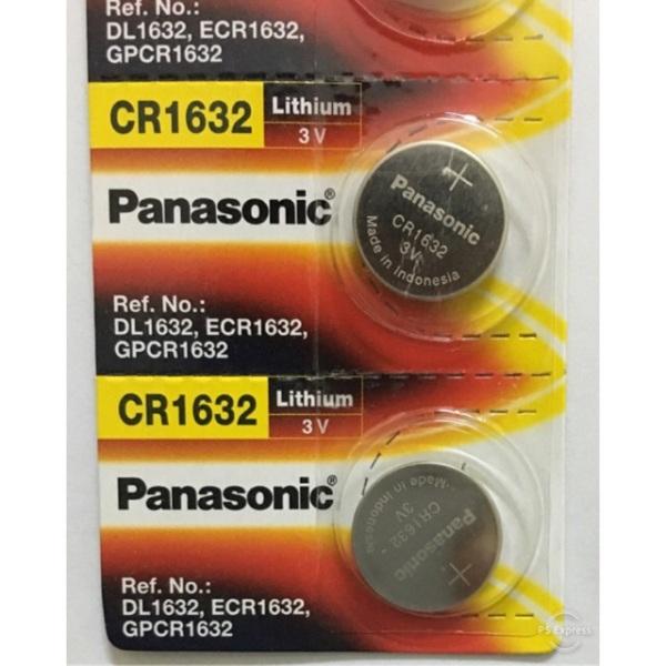 2 Viên Pin CR1632 Panasonic Lithium 3V