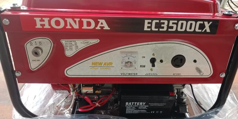 Máy phát điện Honda SH 3500 công suất 3kw giá rẻ(chạy xăng, điện đề