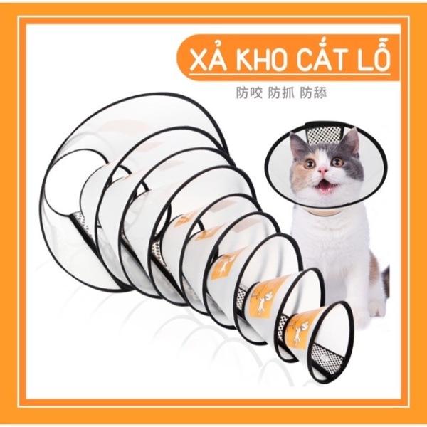 Vòng loa chống liếm cho thú cưng chó mèo nhỏ
