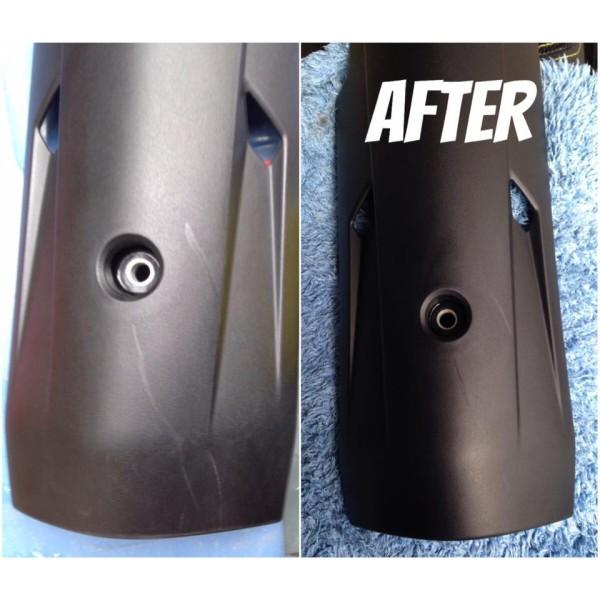 [ Tặng mút bôi ] Chai Phục hồi nhựa nhám Plastic Remover 10ml