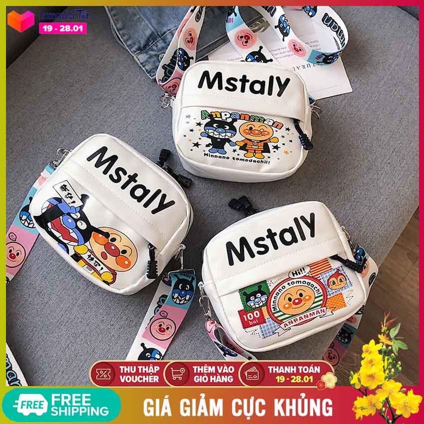 Túi đeo chéo nữ Mstaly phong cách Hàn Quốc siêu cute (T1015), túi xách nữ thời trang phối màu rất dễ thương - Túi thời trang, túi da đeo chéo, túi cute, túi xách đẹp, túi đeo vai - NASI Store