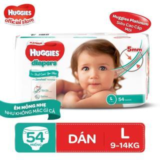 Combo 2 tã dán Huggies Diapers Platinum L54 thumbnail
