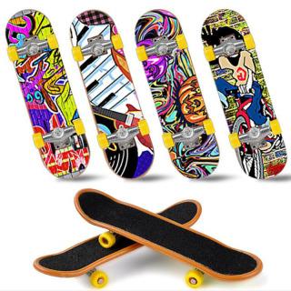 Bloom 1PC Cute Kids Children Mini Fingerboard Skate Boarding Gifts Party Toy Random thumbnail