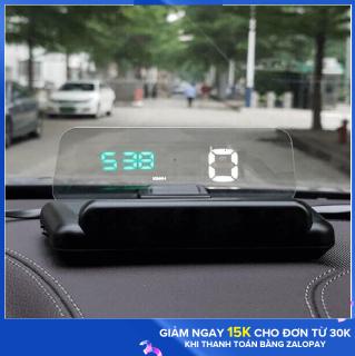 HUD hiển thị tốc độ kính lái C500 ( OBD2 ) - HUD C500 - C500 - HUD Hiển thị tốc độ thumbnail