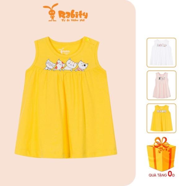 Nơi bán Đầm váy thun sơ sinh bé gái Rabity 11001