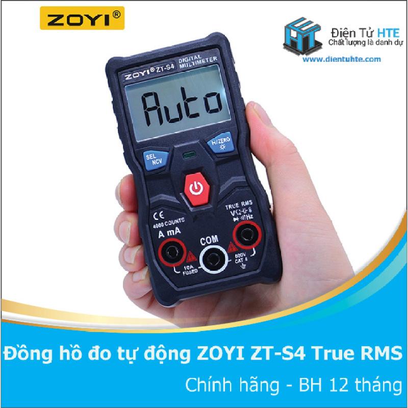Đồng hồ đo tự động hoàn toàn ZOYI ZT-S4 True RMS - BH 1 tháng