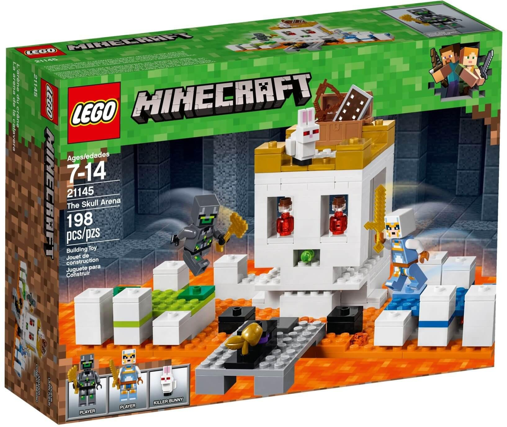 Mua đồ Chơi LEGO Minecraft 21145 - Đấu Trường Đầu Lâu (LEGO The Skull Arena) Giá Rẻ ở Việt Nam Bất Ngờ Giảm Giá