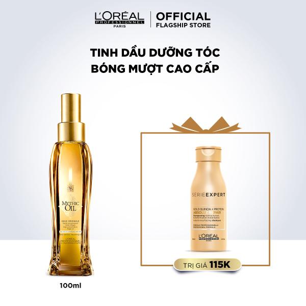 Dầu dưỡng tóc bóng mượt cao cấp LOréal Professionnel Mythic Oil 100ml cao cấp