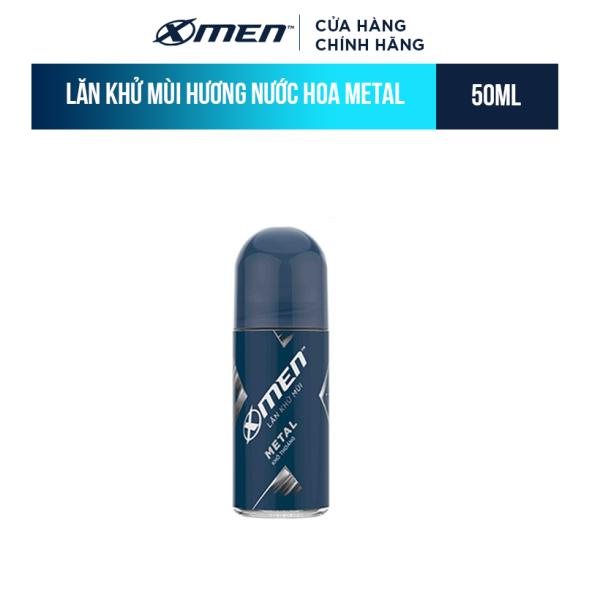 Lăn khử mùi X-men Metal - Khô thoáng 50ml