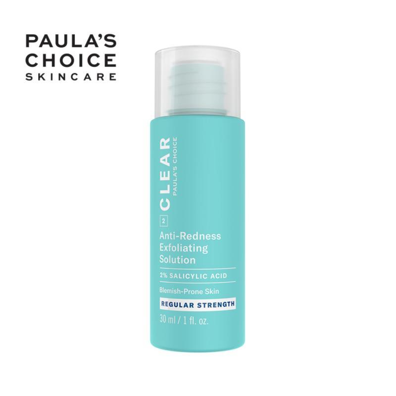 Tinh chất giảm mụn đầu đen Paula's Choice CLEAR REGULAR STRENGTH ANTI-REDNESS EXFOLIATING SOLUTION WITH 2% SALICYLIC ACID 30 ml 6206 nhập khẩu