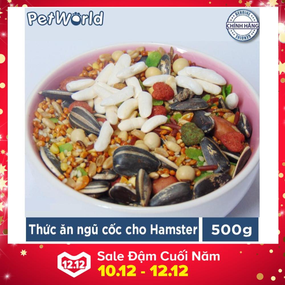 Thức Ăn Ngũ Cốc Cho Hamster - Thức Ăn Loại Thường (500g)