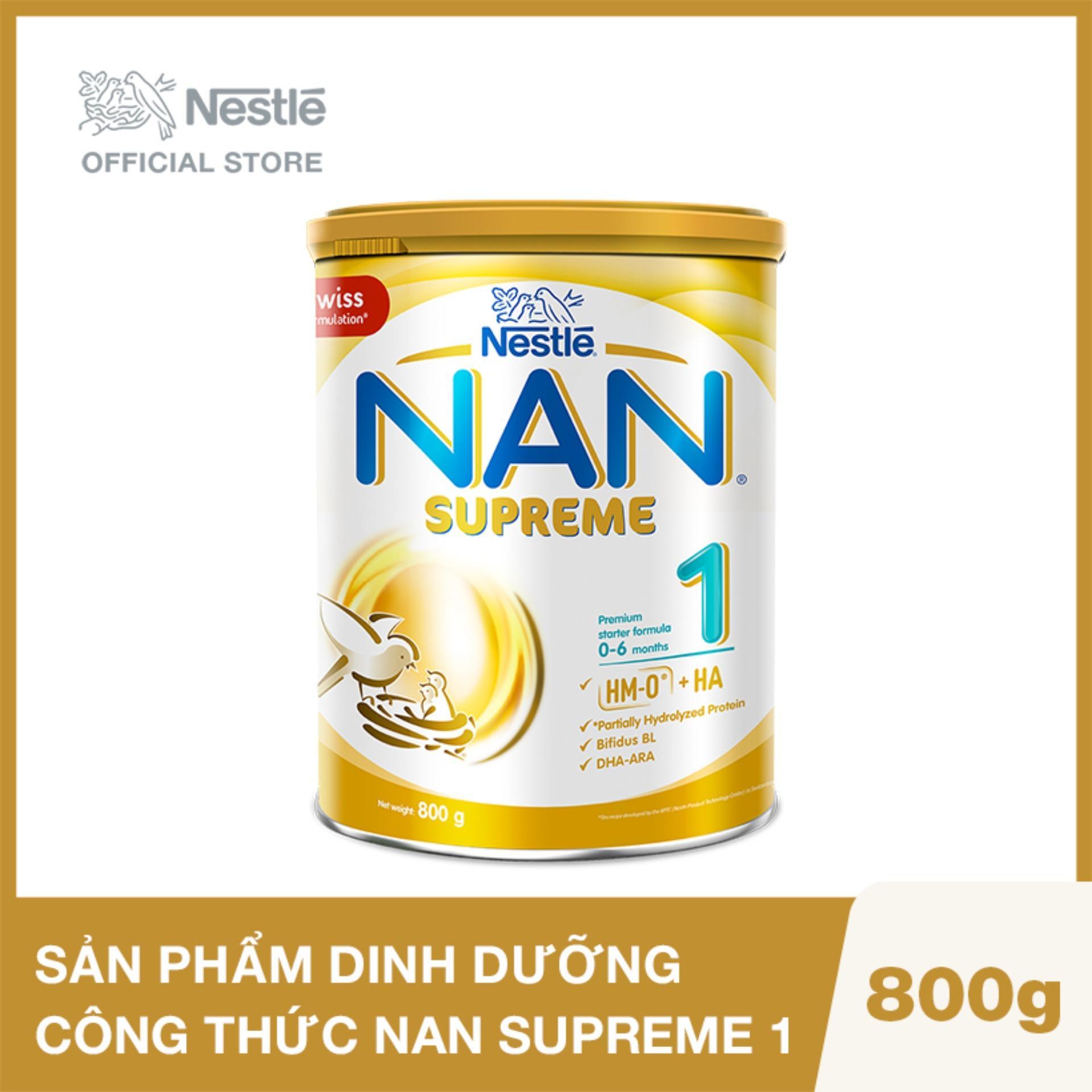 Sản phẩm dinh dưỡng công thức Nestlé NAN SUPREME 1...