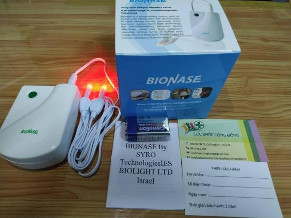 Máy trị liệu viêm mũi (đủ hộp và phụ kiện)