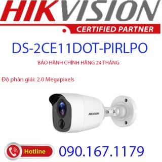 [HCM]Camera HD-TVI hồng ngoại 2.0 Megapixel HIKVISION DS-2CE11D0T-PIRLPO thumbnail