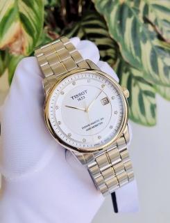 Đồng hồ nam Tissot Automatic Luxury Powermatic 80 T086.408.22.036.00 - Cọc số kim cương thumbnail