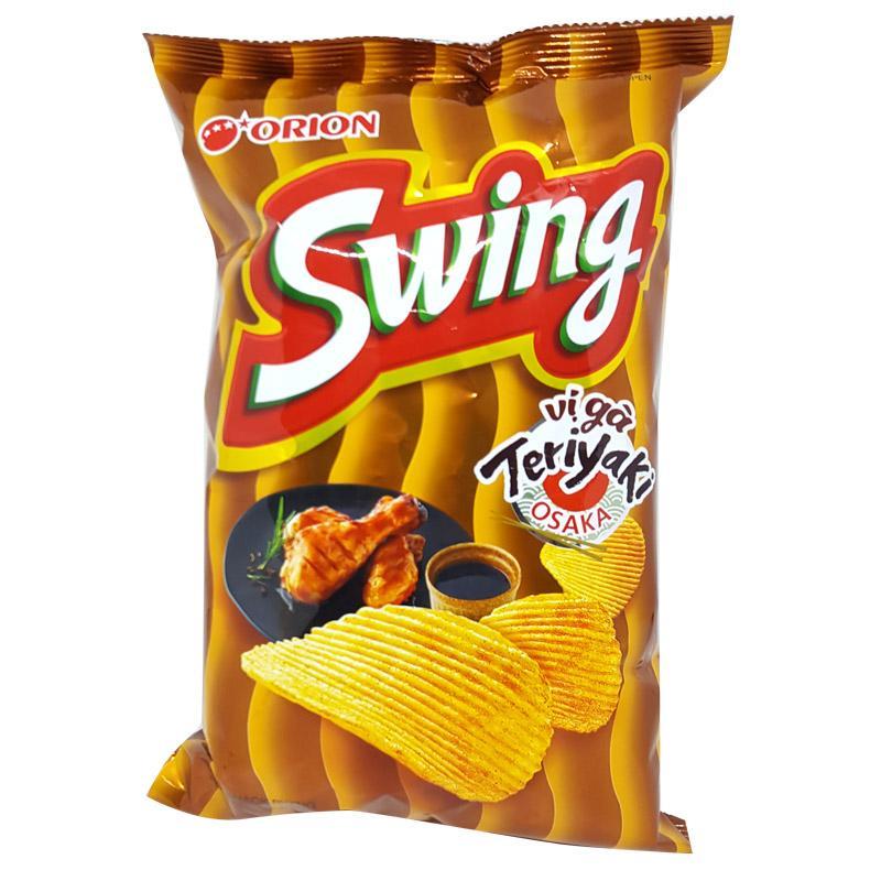 Bánh Snack Swing vị Gà Teriyaki Osaka gói 90g