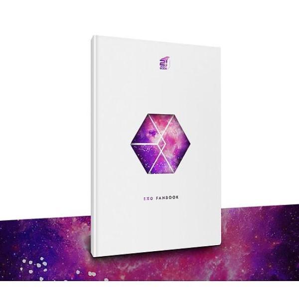 Mua Fanbook EXO (Tặng Kèm Poster EXO Thiết Kế Độc Quyền)