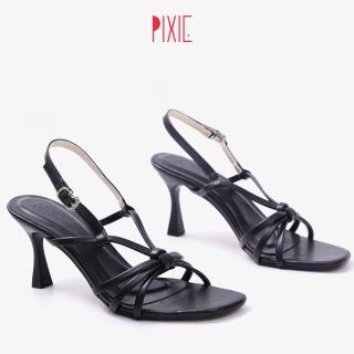 Giày Sandal Cao Gót 7cm Thắt Nơ Pixie X714 thumbnail