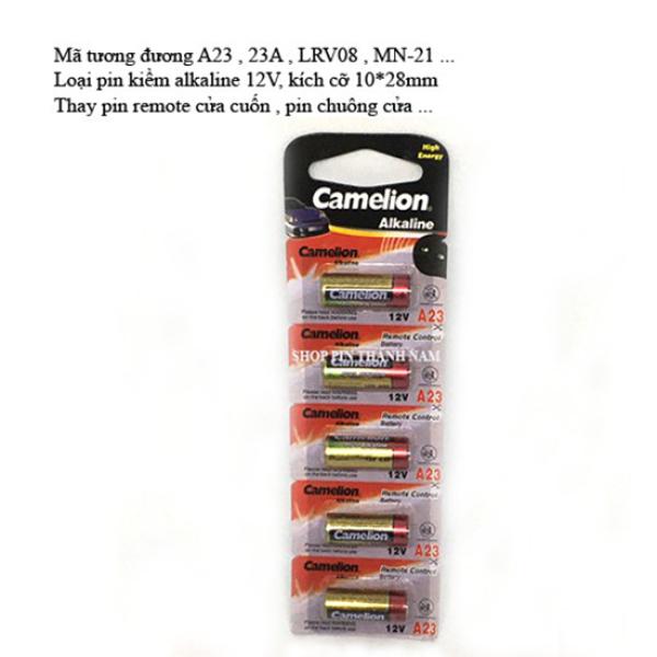 Bảng giá 5 viên pin A23 Camelion 12V thay cửa cuốn